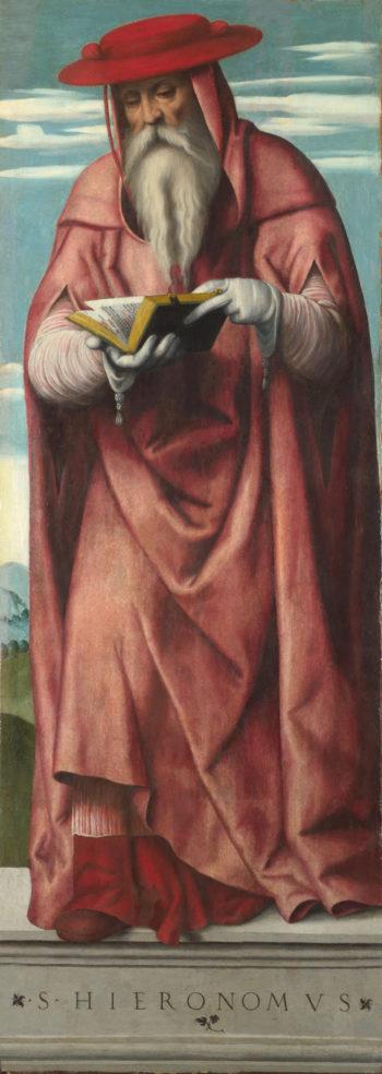 Saint Jerome   Moretto da Brescia   oil painting