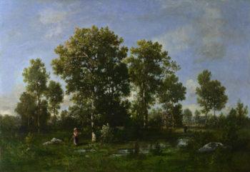 Sunny Days in the Forest | Narcisse-Virgilio Diaz de la Peta | oil painting