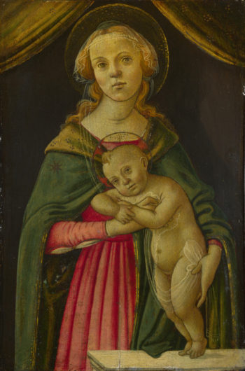 The Virgin and Child | Follower of Sandro Botticelli | oil painting