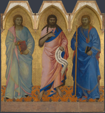 Three Saints | Nardo di Cione | oil painting