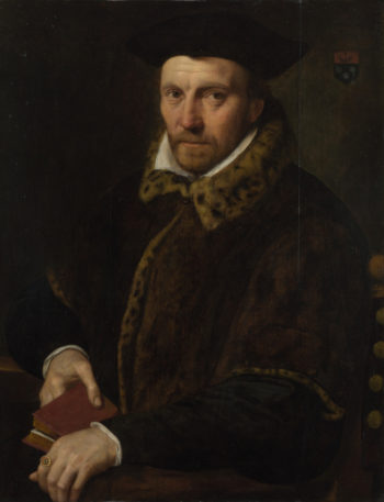Portrait of Andreas Boulengier | Netherlandish | oil painting