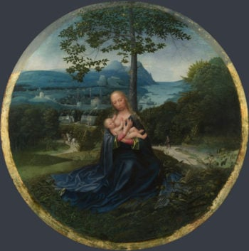 The Virgin and Child in a Landscape | Netherlandish | oil painting