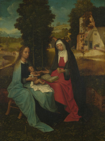 The Virgin and Child with Saint Anne | Netherlandish | oil painting