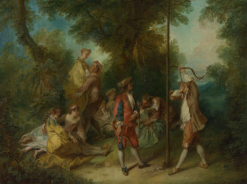 The Four Ages of Man Maturity | Nicolas Lancret | oil painting