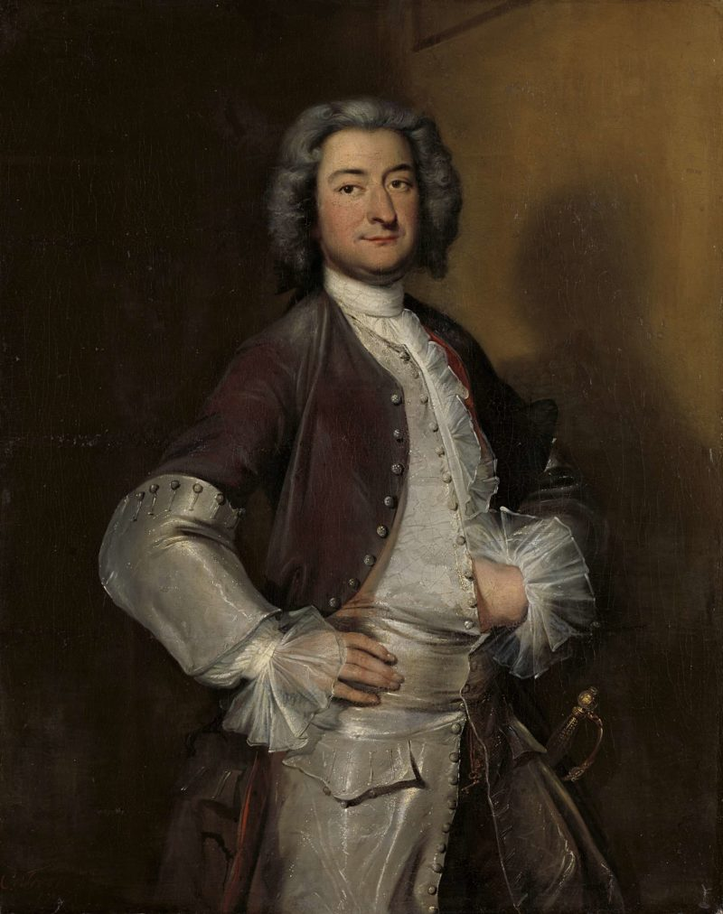 Isaac Sweers (1707-77). Head Schout of Amsterdam and governor of the East India Company. 1730 - 1740   Cornelis Troost   oil painting