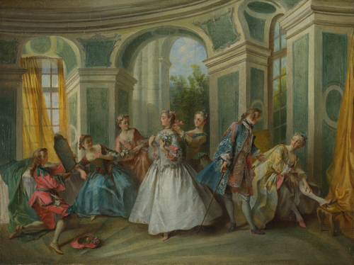 The Four Ages of Man Youth | Nicolas Lancret | oil painting
