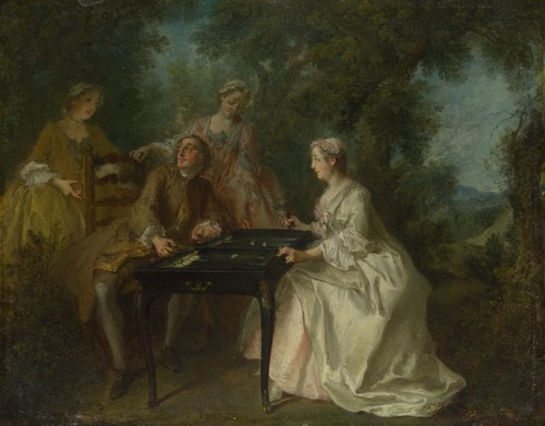 The Four Times of Day Afternoon | Nicolas Lancret | oil painting