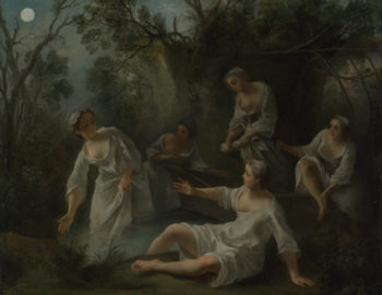 The Four Times of Day Evening | Nicolas Lancret | oil painting
