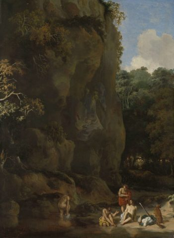 Bathing men. 1650 - 1674 | Gerbrand van den Eeckhout | oil painting