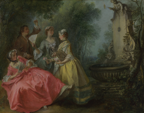 The Four Times of Day Midday | Nicolas Lancret | oil painting