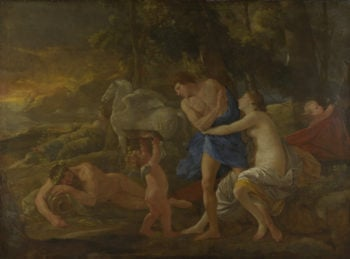 Cephalus and Aurora | Nicolas Poussin | oil painting
