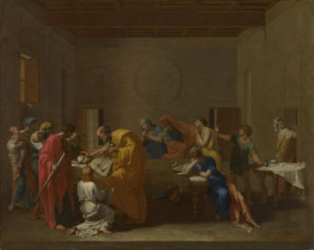 Extreme Unction | Nicolas Poussin | oil painting