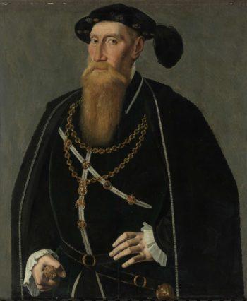 Portrait of Raynald III of Brederode. ca. 1545 | Jan van Scorel | oil painting