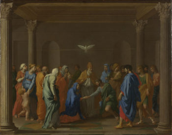 Marriage   Nicolas Poussin   oil painting