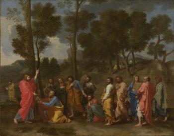 Ordination   Nicolas Poussin   oil painting