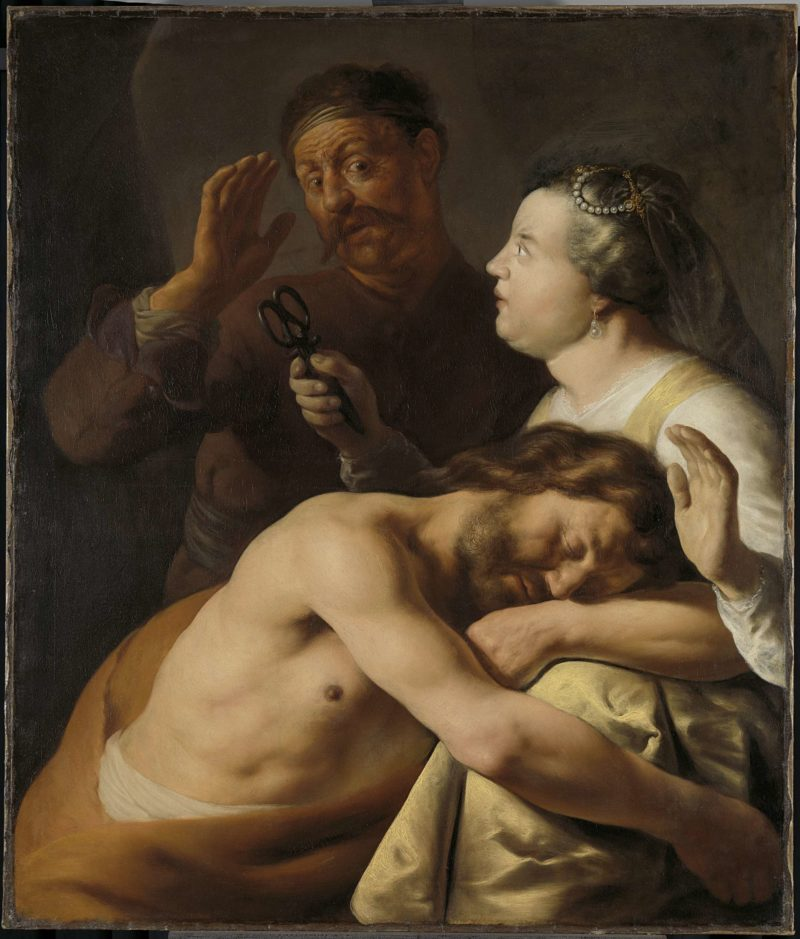 Samson and Delilah. 1630 - 1635 | Jan Lievens | oil painting