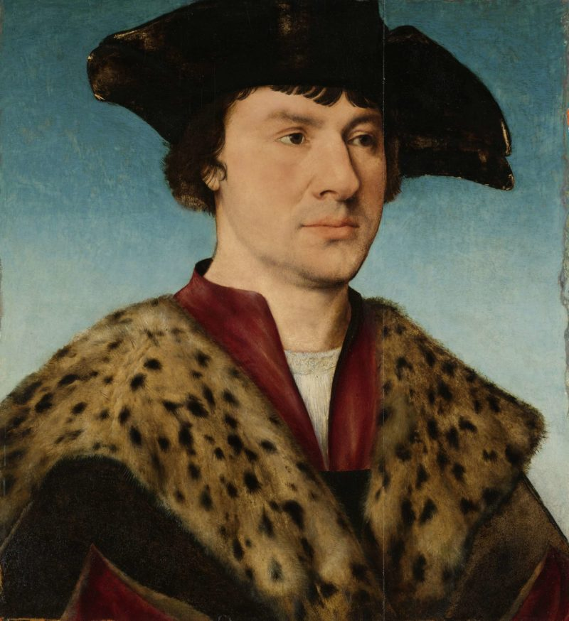 Portrait of a man. ca. 1520 - ca. 1530 | Joos van Cleve | oil painting
