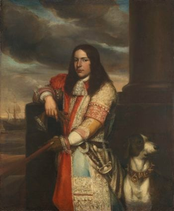 Angel de Ruyter (1649-83). Vice Admiral