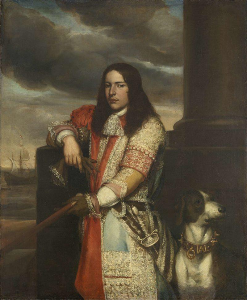 Angel de Ruyter (1649-83). Vice Admiral