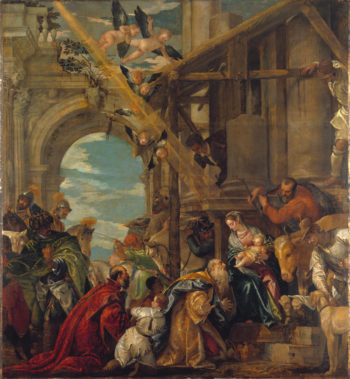 The Adoration of the Kings | Paolo Veronese | oil painting