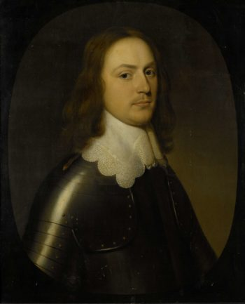 Portrait of an officer. 1644 | Gerard van Honthorst | oil painting