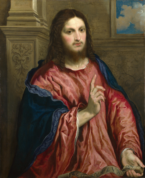 Christ as 'The Light of the World' | Paris Bordone | oil painting