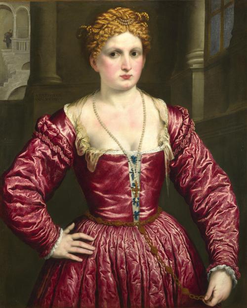 Portrait of a Young Woman | Paris Bordone | oil painting