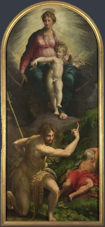 The Madonna and Child with Saints | Parmigianino | oil painting