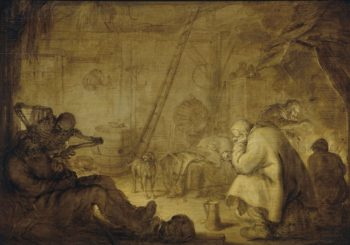 Miseries-end. 1632 | Adriaen Pietersz. van de Venne | oil painting