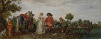 Spring. 1625 | Adriaen Pietersz. van de Venne | oil painting