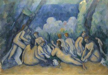 Bathers (Les Grandes Baigneuses) | Paul Cezanne | oil painting