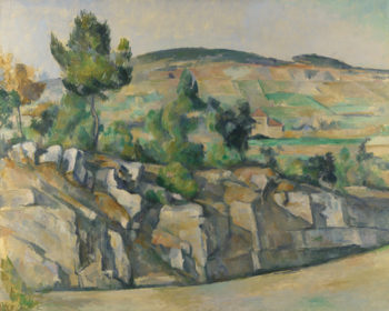 Hillside in Provence | Paul Cezanne | oil painting