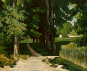 The Avenue at the Jas de Bouffan | Paul Cezanne | oil painting
