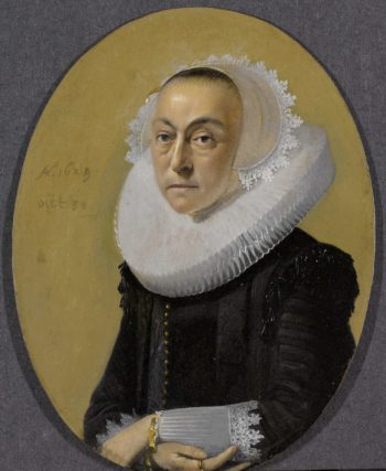 Portrait of a woman. 1629 | Willem Cornelisz. Duyster | oil painting
