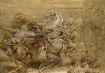 A Lion Hunt | Peter Paul Rubens | oil painting