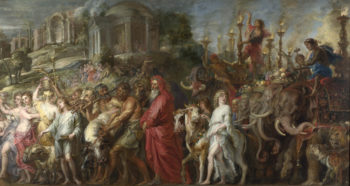 A Roman Triumph | Peter Paul Rubens | oil painting