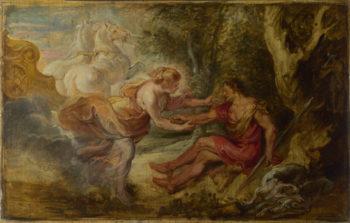 Aurora abducting Cephalus | Peter Paul Rubens | oil painting