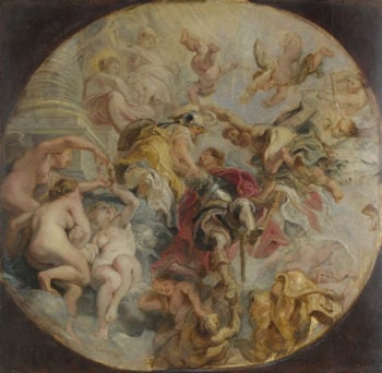 The Apotheosis of the Duke of Buckingham | Peter Paul Rubens | oil painting
