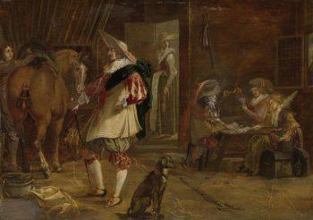 A short grove. ca. 1635 - ca. 1640 | F. Jansen | oil painting