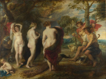 The Judgement of Paris | Peter Paul Rubens | oil painting