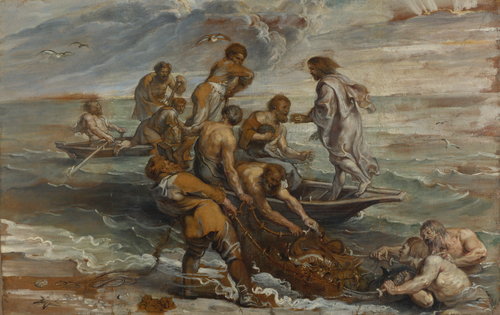 The Miraculous Draught of Fishes | Peter Paul Rubens | oil painting