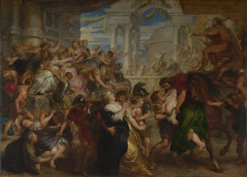 The Rape of the Sabine Women | Peter Paul Rubens | oil painting