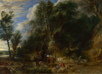The Watering Place | Peter Paul Rubens | oil painting