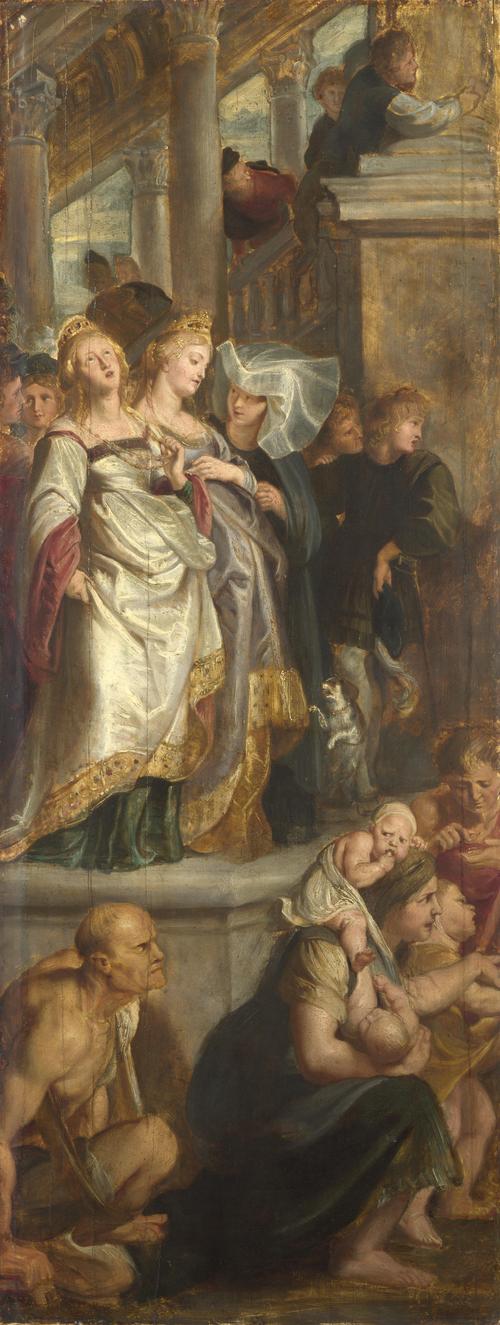 Three Female Witnesses   Peter Paul Rubens   oil painting