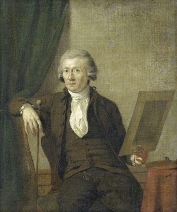 Egbert van Drielst (1745-1818). Painter. 1785 - 1793 | Jan Ekels (II) | oil painting