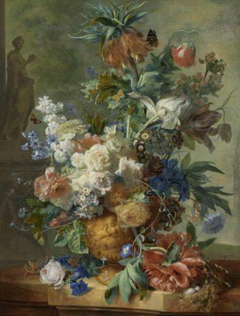 Still Life with Flowers. 1723   Jan van Huysum   oil painting