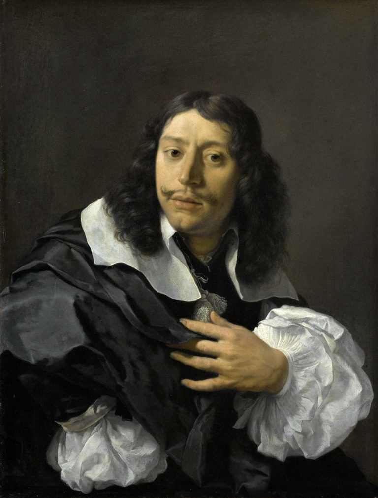 Self-portrait. 1662 | Karel Dujardin | oil painting