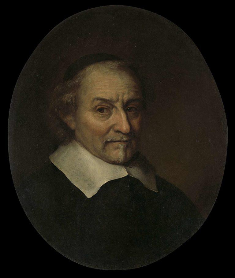 Joost van den Vondel (1587-1679). Poet. 1665 | Philips Koninck | oil painting