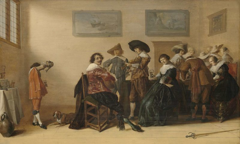 Merry company in a room. 1633 | Anthonie Palamedesz. | oil painting