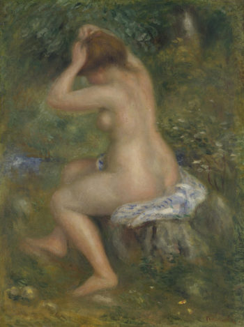 A Bather | Pierre-Auguste Renoir | oil painting